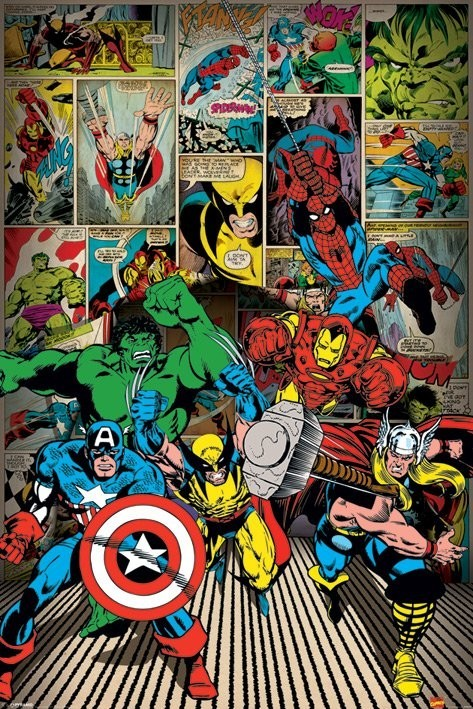 marvel comics here come i11484